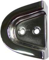 Gehäuse verchromt, für das Türgummipuffer. Passend für Citroen 11CV + 15CV. Or. Nr. 216013 -1 - 60780 - Der Franzose