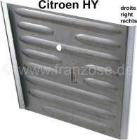 Reparaturblech, für das Seitenblech vorne rechts (Scheinwerferaufnahme). Passend für Citroen HY. -1 - 48167 - Der Franzose