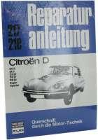 Reparaturhandbuch Citroën DS. 135 Seiten. Sprache Deutsch. | 38207 | Der Franzose - www.franzose.de