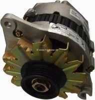 P 504/205/BX, Lichtmaschine (mit integrierten Lichtmaschinenregler). Passend für Peugeot 504, 205. Citroen BX. 12 Volt. 80A. Doppelarm. Einbaulage: 20°. Zuzüglich Altteilpfand 65 Euro - 72121 - Der Franzose