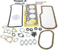 P J5/C25, Motordichtsatz. Motor: XM7T (Benziner 1,8). Passend für Peugeot J5 + Citroen C25, von Baujahr 11/1981 bis 02/1994. Or. Nr. 0197.15 - 71063 - Der Franzose