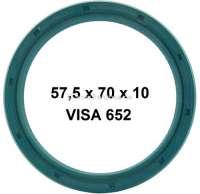 Simmerring+Kurbelwelle+hinten+f%FCr+Citroen+VISA+652.+Ma%DFe%3A+57%2C5x70x10mm