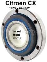 Radlagersatz vorne Citroen CX. Verbaut von 1975 bis 02/1982. Made in Spain | 42322 | Der Franzose - www.franzose.de