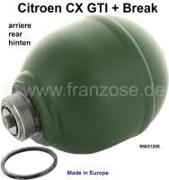 Federkugel CX GTI+ Break hinten Or.Nr. 95631258 | 42003 | Der Franzose - www.franzose.de
