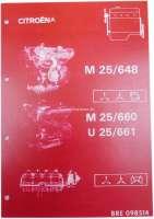 Ergänzungsband für Citroen CX, zu Man 008531. Speziell Einspritzmotoren, 62 Seiten. - 18208 - Der Franzose