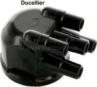 Ducellier, Verteilerkappe (D801), seitlicher Zündkabelabgang. Passend für Citroen DS, CX, GS, HY, Visa, LNA. Renault R5. Made in France. - 34033 - Der Franzose
