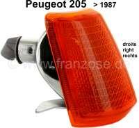 P 205, Blinkerkappe vorne rechts bis 1987. Peugeot 205. - 75220 - Der Franzose