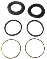 P 504, Reparatur Satz (Gummis) für den Bremssattel vorne. Bremssystem Lucas. Für Kolbendurchmesser: 54mm. Passend für Peugeot 504. Or. Nr. 4448.20 - 74149 - Der Franzose