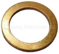 Bremsschlauch Kupfer Dichtring. Abmessung: 13 x 19 x 1,5mm. Peugeot Or. Nr. 461001 - 74630 - Der Franzose
