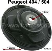 P 404/504, Federteller vorne. Durchmesser 165mm. Passend für Peugeot 404 + 504. Per Stück - 73075 - Der Franzose