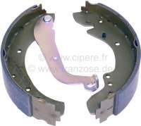 P 404/504, Bremsbackensatz hinten Peugeot 404, 504.  Breite 57mm Durchmesser 254mm, System Lucas. -1 - 74161 - Der Franzose