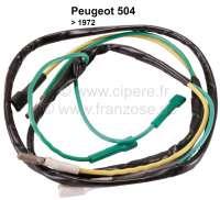P 504, Kabelstrang (3 Kabel) für Innenleuchte Peugeot 504 bis 1972.  Or.Nr.651290 - 75291 - Der Franzose