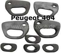 P 404, Türgriff Gummiunterlagen. Passend für Peugeot 404. | 77786 | Der Franzose - www.franzose.de