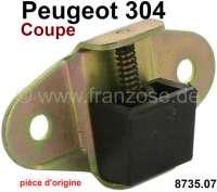 P 304, Zentrierkeil für die Heckklappe. Passend für Peugeot 304 Coupe. Or. Nr. 8735.07 / Original Peugeot, kein Nachbau. | 77790 | Der Franzose - www.franzose.de