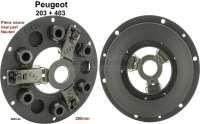 P 203/403 Kupplung Druckplatte (Neuteil). Passend für Peugeot 203 + 403. Für Mitnehmerscheibe Durchmesser: 200mm. Or. Nr. 2003.44 -2 - 71194 - Der Franzose