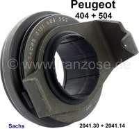 P 404/504. Ausrücklager. Passend für Peugeot 404, ab Baujahr 1967. Peugeot 504 ab Baujahr 1968. Original Hersteller Sachs. Or. Nr. 204130 + 204114. - 72991 - Der Franzose
