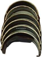 P 403/404, Kurbelwellenlager, 0,8 Übermaß. Passend für Peugeot 404, von Baujahr 1961 bis 1964 (ab Motor 4036261, 3 Kurbelwellenlager, 1618ccm). Peugeot 403, letzte Baujahre. - 71208 - Der Franzose