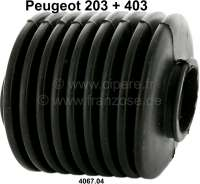 P 203/403, Lenkungsmanschette. Passend für Peugeot 203 + 403. Or. Nr. 4067.04 | 73436 | Der Franzose - www.franzose.de