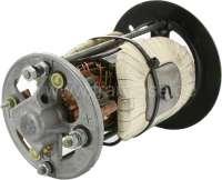 Gleichstrom Lichtmaschine (Ducellier) Reparatur Satz. Passend für Baureihe: 7. 12 Volt. 350 Watt. Für Gehäuse Innendurchmesser: 88,0mm. Außendurchmesser: 103mm. Länge: 153 - 154mm. Bestehend aus: Lagerdeckel vorne + hinten. Rotor, Kohlen. Die Feldwicklung ist incl. Metallkern. Passend für Peugeot 203, 403, 204, 304, J7. Original Ducellier (NOS), kein Nachbau! -2 - 73002 - Der Franzose