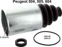 P 504/505/604, Antriebswellen Manschette (mit Blechgehäuse), radseitig. Passend für Peugeot 504, 505, 604. Durchmesser: 82,6mm + 26,7mm. Or. Nr. 3293.50 + 3293.57 - 73045 - Der Franzose