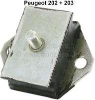 P 203/202, Motorhalterung. Passend für Peugeot 203 + 202 (links oder rechts passend). Befestigung Lochmitte zu Lochmitte: 65mm. Or. Nr. 1806.06 + 1807.07 | 71193 | Der Franzose - www.franzose.de