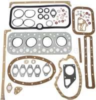 P 403, Motordichtsatz (incl. Zylinderkopfdichtung). Passend für Peugeot 403, von Baujahr 1959 bis 1966. Benzin Motoren. 1290ccm - 1485ccm. Ohne Simmerringe. Or. Nr. 0199.13 - 71105 - Der Franzose