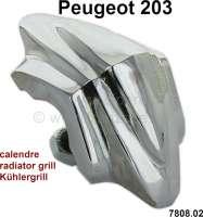 P 203, Befestigungsklammer für den Kühlergrill (per Stück). Passend für Peugeot 203. Or. Nr. 7808.02 - 77814 - Der Franzose