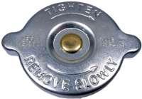 Kühlerdeckel Peugeot Benziner (0,28 bar). Passend für Peugeot 204, 304, 504, 604, 505. Höhe über alles: 26,50mm. -1 - 72337 - Der Franzose