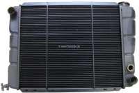 P 505, Kühler. Passend für Peugeot 505 (2,o TI + 2,2 GTI), bis Baujahr 1984. Kühlernetzmaße: 440 x 358 x 34mm. Or. Nr. 1305.32 - 72776 - Der Franzose