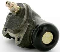 P 403/404, Radbremszylinder hinten rechts,    Or.Nr.440227, Kolbendurchmesser = 23,81 mm, Ankerplattenanschluss = 36 mm, Leitungsanschluss = 3/8 x 24UNF, Länge über alles = 72 mm.  Made in Europe. -1 - 74300 - Der Franzose