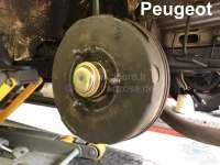 P 203/403/404/504, Fettkappe aus Blech. Durchmesser: 66mmm. Passend für Peugeot 203, 403, 404, 504 (bis Baujahr 1976). Or. Nr. 3740.07 -1 - 73343 - Der Franzose
