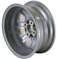 Felge, Größe: 6,0 x 15. Einpresstiefe: 19. Lochkreis: 4 x 108. Mittenloch (Zentrierung): 65,1mm (für originale Mittenkappe 5421.89). Passend für Peugeot 205 GTI (1,9). Die Radverschraubungen (Bolzenlöcher) haben einen 60° Kegelbund. Die Felge wird mit Teilegutachten geliefert. -1 - 73634 - Der Franzose
