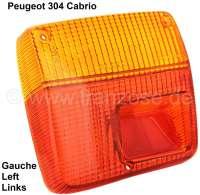 P 304, Rücklichtkappe links, für Cabrio,  Kleinstserien-Nachfertigung! - 74209 - Der Franzose