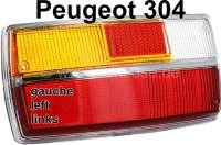 P 304, Rücklichtkappe links, einteilig, Limousine, ab Salon 1972 Or.Nr.634934 - 74246 - Der Franzose