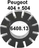 Gummikupplung Wischermotor (runder Motor). Passend für Peugeot 404 + Peugeot 504. (Verbindungs und Kraftübergabegummi zwischen Wischermotor + Wischergestänge an der Stirnwand!). Or. Nr. 6408.13 - 75245 - Der Franzose