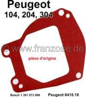 P 204/304/104, Wischermotor (Bosch) Gehäusedichtung. Passend für Peugeot 104, 204, 304. Nur für