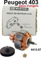 P 403, Wischermotor Ankerwicklung (original), für SEV Marchal Scheibenwischermotor. Passend für Peugeot 403. Or. Nr. 6413.07 - 75348 - Der Franzose
