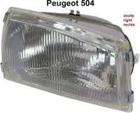 P 504, Scheinwerfer vorne rechts, Bilux - 75075 - Der Franzose