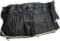 P 504, Kunstleder schwarz, Rücksitzbank Rückenlehnenbezug, Peugeot 504 Coupe.  Or.Nr.895150 - 78525 - Der Franzose