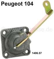 P 104, Deckel für Membranenpumpe (Vergaser). Passend für Peugeot 104. Or. Nr. 1406.57 - 71351 - Der Franzose