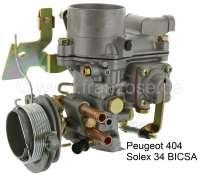 P 404, Vergaser 34 BICSA (Nachbau). Passend für Peugeot 404 (Motor XC6). Nicht passend für Automatik Getriebe. Peugeot 403. Peugeot 504 (Motor XM7). - 72013 - Der Franzose