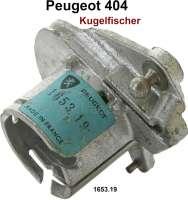 P 404, Drosselklappenregulierung für die Kugelfischer Einspritzung. Passend für Peugeot Limousine 404 bis Serie 8231077. 404 Cabrio + Coupe bis 4599971. Or. Nr. 1653.19 - 70837 - Der Franzose