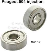 P 504, Lagerung (2 Stück) Drosselklappenwelle. Passend für Peugeot 504 Einspritzer. Or. Nr. 1651.15 - 70838 - Der Franzose