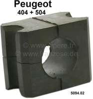 P 404/504, Stabilisatorgummi, für 22mm Stabilisator. Passend für Peugeot 404 + 504. Or. Nr. 5094.02 - 74237 - Der Franzose