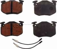 P 504/505/604, Bremsklötze vorne, System Bendix. Breite 105mm, Höhe 65mm, Dicke 18mm. Or.Nr.425021, 424881 - 74527 - Der Franzose