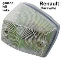 Caravelle, Blinker, eckig, vorne links (komplett mit Fassung). Passend für Renault Caravelle. - 85401 - Der Franzose