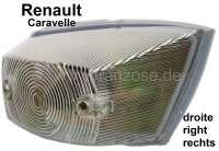 Caravelle, Blinker, eckig, vorne rechts (komplett mit Fassung). Passend für Renault Caravelle. - 85402 - Der Franzose