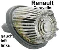 Caravelle, Blinker, rund, vorne links (komplett mit Fassung). Passend für Renault Caravelle. Or. Nr. 5400746 - 85403 - Der Franzose