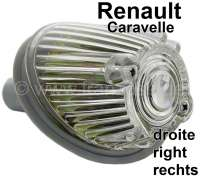 Caravelle, Blinker, rund, vorne rechts (komplett mit Fassung). Passend für Renault Caravelle. Or. Nr. 5400747 - 85404 - Der Franzose