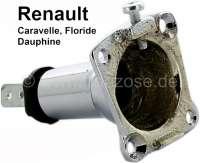 Floride/Caravelle/Dauphine, Fassung (aus Metall) für die Parkleuchte - Positionsleuchte. Passend für Renault Caravelle + Floride, Dauphine. Per Stück. - 85411 - Der Franzose